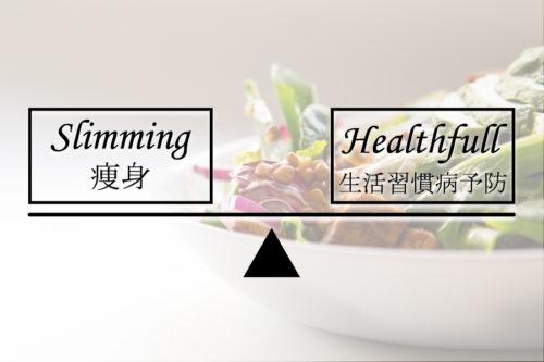 痩身と健康