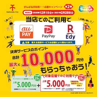 岸和田応援キャンペーン
